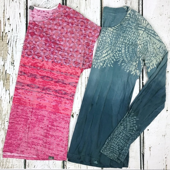Prana Tops - PrAna Yoga Top Bundle Ombré Tie Dye Sz Medium